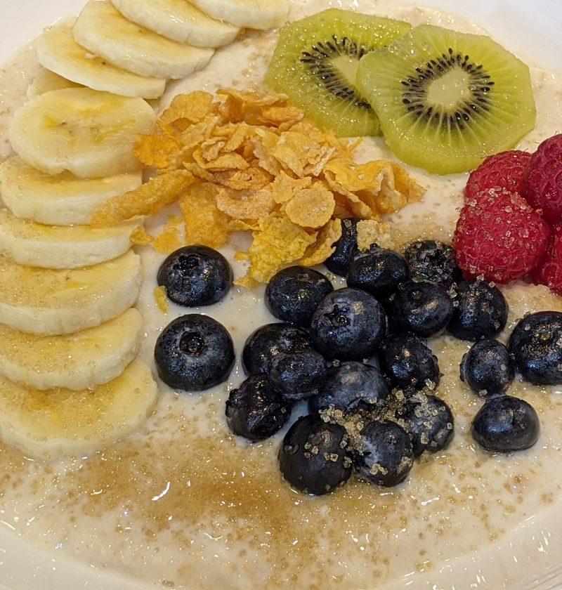 oat meal breakfast